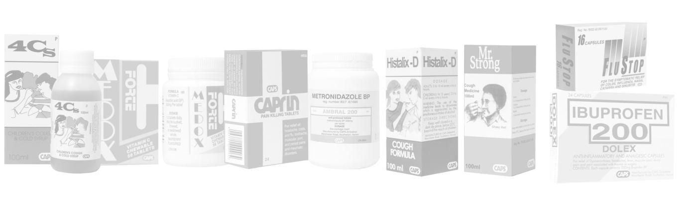 Caps Pharmaceuticals Products